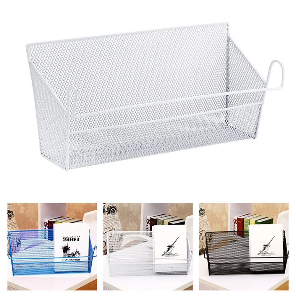 Bed Shelf Storage Bins Baskets Student Dormitory Living Room Iron Storage Box Bed Hanging Storage Basket