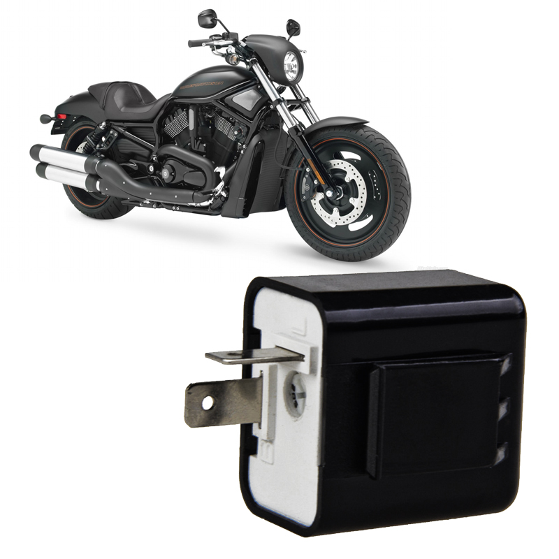 Automobiles & Motorcycles Qilejvs 12v 2 Pin Motorcycle Blinker Adjustable Led Flasher Relay Turn Signal Indicator #1