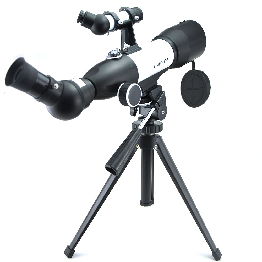 Visionking 70350mm Refractor Astronomical Telescope 120x Long Range Sky Moon Jupiter Observation Astronomy Monocular With Tripod
