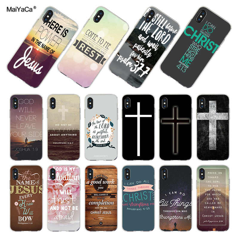 Christian Jesus The Cross of Words Galaxy iphone case
