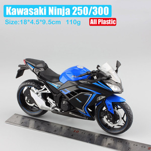 Image 2 - 1/12 automaxx 2013 Kawasaki Ninja 250R SE 300 rennen skala Motorrad spielzeug sport bike Gießt Druck & Spielzeug Fahrzeuge modelle spielzeug repliken