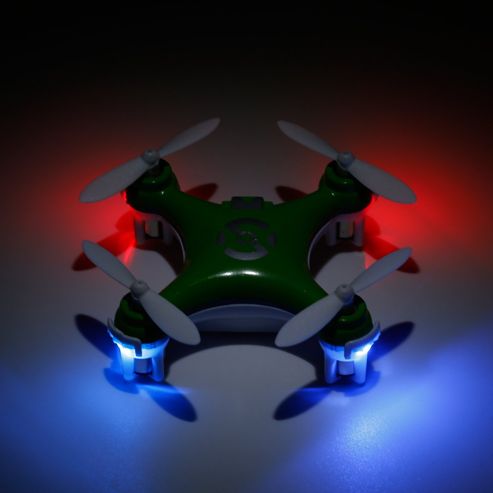 الأخضر rc quadcopter مصغرة ل cheerson CX-10 2.4 جرام - ألعاب التحكم عن بعد
