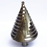 New HSS Step Drill Bits 6mm 60mm Cylindrical Shank Woodworking Power Tools Shank Wholesale Price High