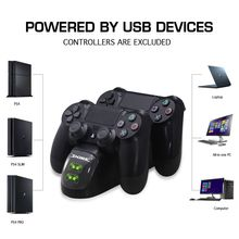 PS4 Dual Controller Stand Charge , 1x USB Charge Cable