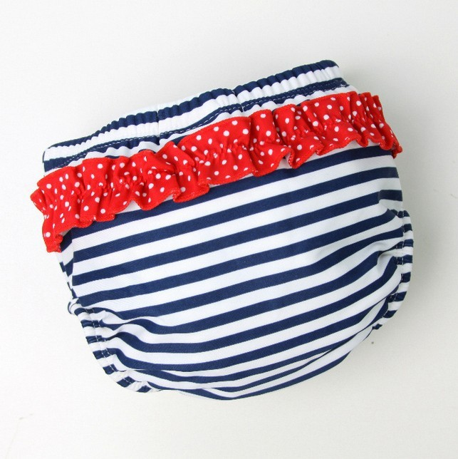 900042 - бесплатная доставка синий девочки / мальчики анти утечки купальники для плавания, многоразовые моющиеся детские подгузники ткани подгузники