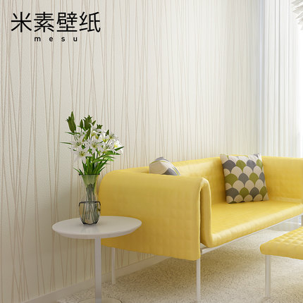 Living room TV background wall paper non-woven wallpaper bedroom striped minimalist modern moonlight forest 0.53m*10m non woven butterfly bubble wallpaper modern simple romantic circle cozy living room bedroom background wall paper kids girls
