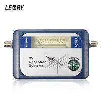 LEORY DVB T Finder Digital Aerial Terrestrial TV Antenna Signal Strength Meter Pointer TV Satellite Receiver