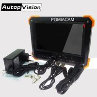 X41TAC AHD CCTV Tester Monitor 4 in 1 for AHD TVI CVI CVBS Camera Security Monitor 1080P with 7 inch LCD screen for camera test