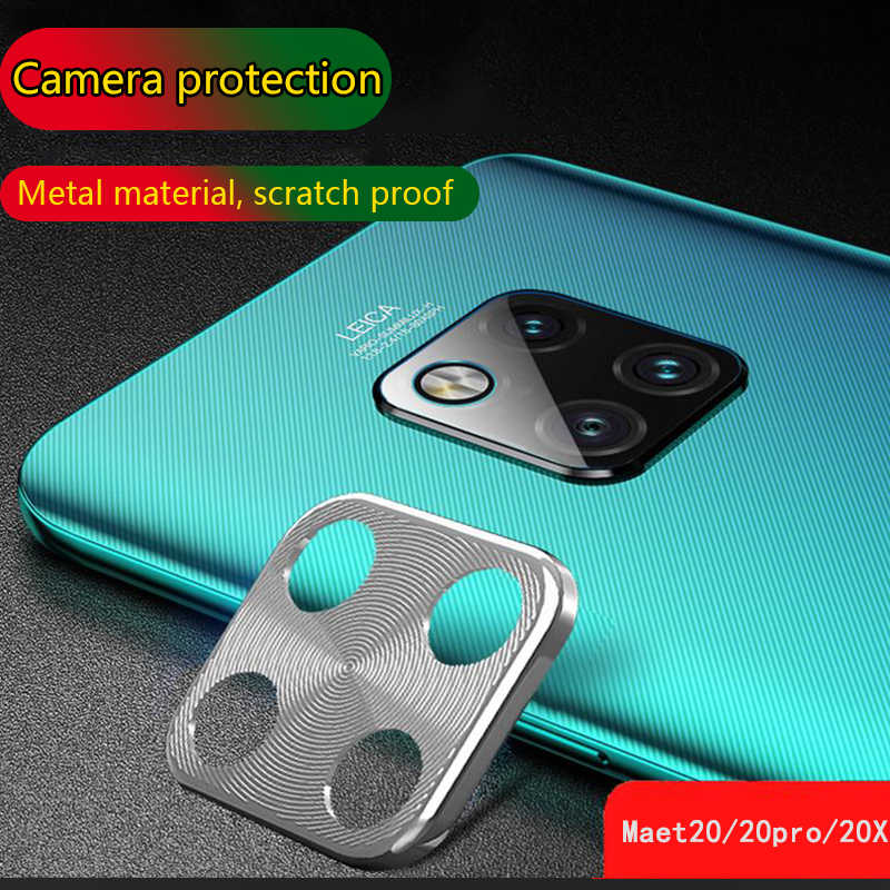 Metal Camera Lens Protector for huawei Mate 20 Pro Anti-scratch 360 Full Protection Camera Protective Ring for Mate 20X 20 Ring