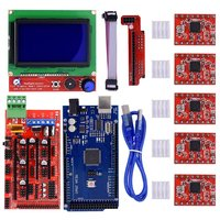 CNC 3D Printer Kit Mega 2560 R3 Reprap RAMPS 1 4 Controller LCD 12864 Display 5pcs