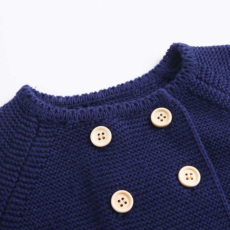 محبوك ملابس الطفل الخريف الشتاء الوليد بيبي بوي فتاة الملابس مجموعة الصوف القطن الرضع طفل سترة + السراويل وتتسابق الطفل