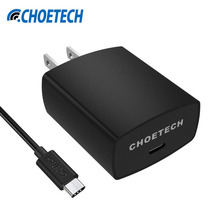 Type USB C Charger,Mobile Phone Wall Charger CHOETECH 15W 5V/3A Travel Charging Fast Efficient for Nexus 6P/5X/Lumia 950/950XL