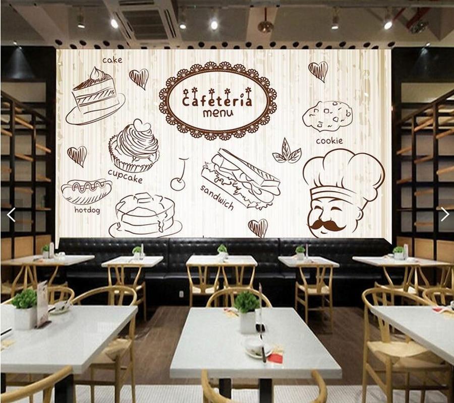 3d Brick Embossed Wallpaper Custom Kitchen Wallpaper Coffee Fresco For Coffee Shop
