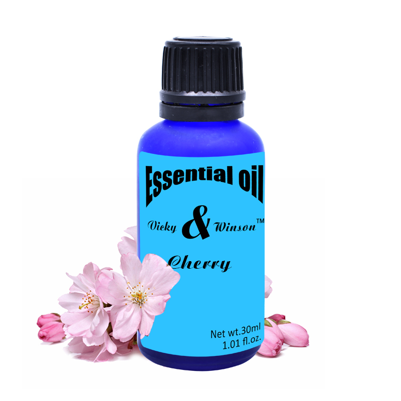 Vicky&winson Cherry aromatherapy essential oils 30ml Prevent aging bright and compact skin make soft elastic VWXX26