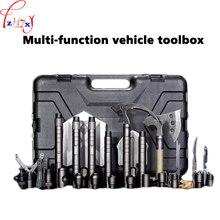 Multi function vehicle toolbox spade suit outdoor survival engineer spade multi function vehicle toolbox 1pc