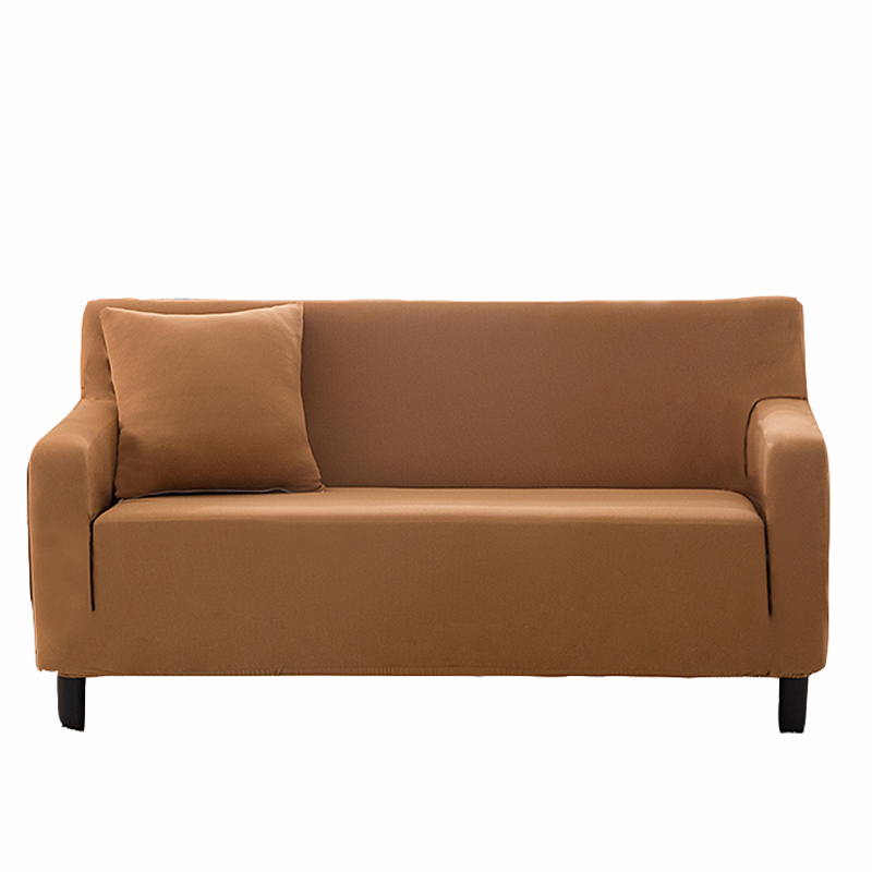 Uiversal stretch light tan couch sofa covers for living