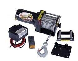 3000lb -- 4500lb 12 V guincho elétrico portátil Carro auto caminhão reboque de barcaças extrator ferramenta de mão da corda de fio de aço