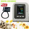 Uso veterinário Vet CONTEC08A Digital Monitor de Pressão Arterial, NIBP manguito + + Software