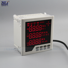 3 phase meter multifunction panel meter Measure and display 3 phase electric parameters panel meter 3 phase power multimeter 3ld2y frame size120 120 low price lcd three phase measure fire monitor digital multifunction meter for industrial usage