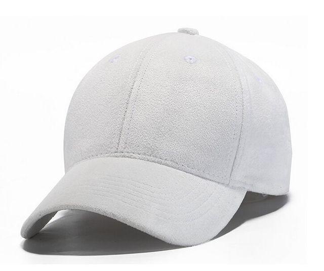 Cuero de Imitación Gamuza blanca Hueso Gorras de Béisbol Golf Visera  Sombrero Supremo Del Snapback Cap 24ba08be214