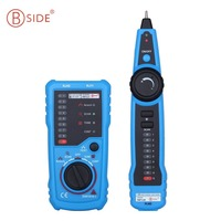 Bside RJ45 Tester Anti Interference LAN Tester Telephone Wire Network Tracker FWT11 Cable Tester Detector Line Finder