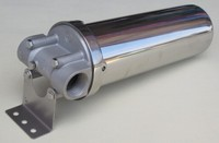 10 inches 304 Stainless steel hot water filter housing 1/2 3/4 1' for high temperature high flow