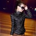 Zaful 2016 nova moda down & parkas casaco de inverno quente mulheres Luz de Inverno de Espessura Plus Size S ~ 2XL Jaqueta Feminina Femme Outerwear