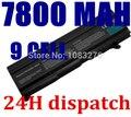 7800 mah bateria do portátil para toshiba pa3465u-1brs, PA3465U-1BAS, PABAS069, PA3451U-1BRS, PA3457U-1BRS, PABAS067 Satellite A100