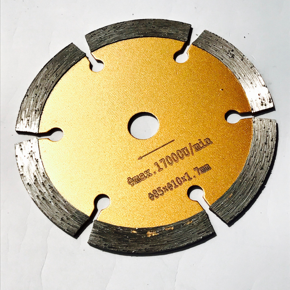 Spedizione gratuita 1pc 85 * 15/10 * 4mm disco da taglio a secco con - Lama per sega - Fotografia 4