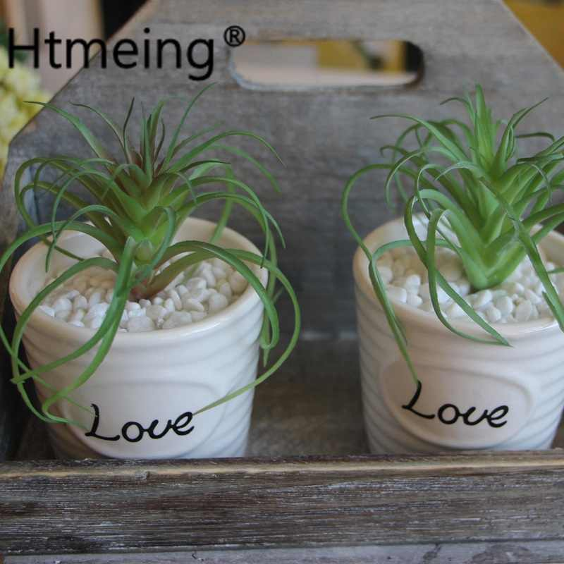 tin home decor.htm htmeing artificial succulent mini air grass simulation plants  artificial succulent mini air grass