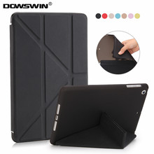 Para apple ipad mini 2 retina caso, dowswin veces origimi pu inteligente sleep despertador con mate tpu contraportada