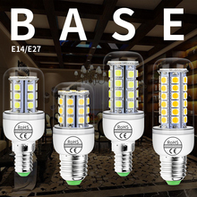 Led 220V Lamp E27 Corn Bulb 4W 6W 8W 12W Energy Saving Bombillas Candle LED Light SMD5050 Chandelier Lighting Home 110V