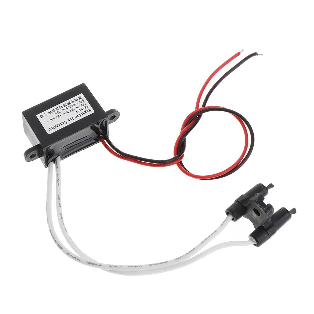 Purificador ionizador generador de aniones de iones negativos de aire compacto, limpiador de coche, herramienta para el hogar