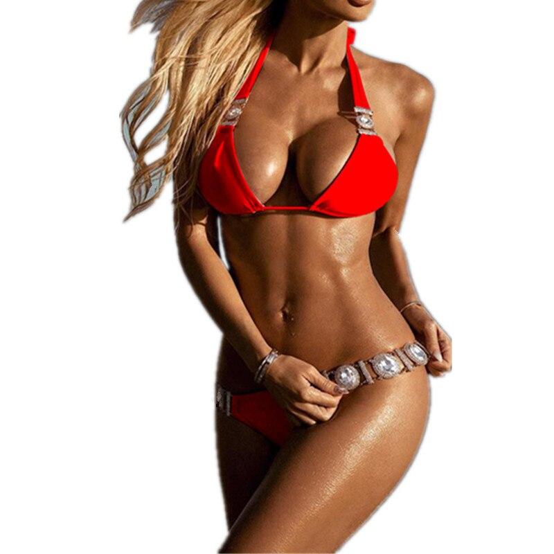 2019 Rhinestone Swimsuit Women Bikinis Crystal Diamond Bikini Set Metal Chain Swimwear female Luxury Aristocratic Swimming 2019 Rhinestone Swimsuit Women Bikinis Crystal Diamond Bikini Set Metal Chain Swimwear female Luxury Aristocratic Swimming Suit