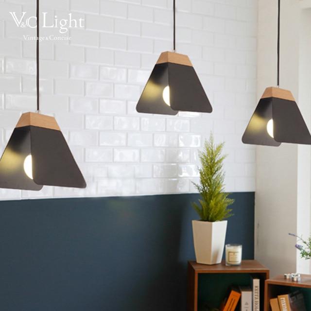 Vc stijlvolle nordic hanglampen woonkamer slaapkamer for Led hanglampen woonkamer
