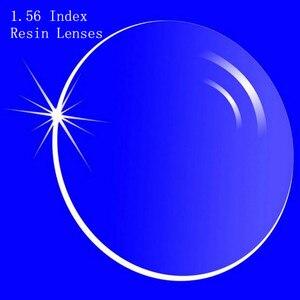 Image 1 - Lentes de prescrição de índice 1.56, lentes de resina asféricas para miopia/hipermetropia/presbiopia lentes de óculos com revestimento