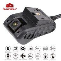3g gps трекер автомобиль смарт тире камера автомобильный dvr JC200 EdgeCam двойной объектив Full HD 1080p черный ящик SOS WiFi ночное видение масло отрезное