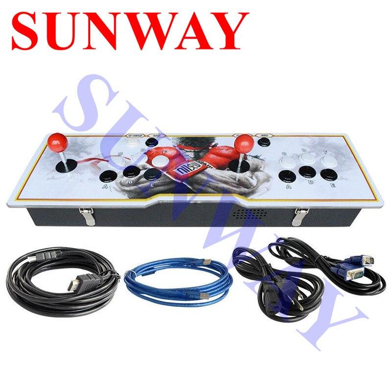 New Verschiedenen Design Pandora 5 S 999 in 1 Arcade Spielkonsole mit USB Zu PC Joystick Für Home TV HDMI Video Multi Spiele konsole