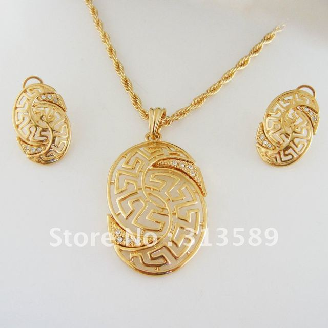 Min order one piece greek key yellow gold gp 24 rope chain min order one piece greek key yellow gold gp 24 rope chain necklace aloadofball Images