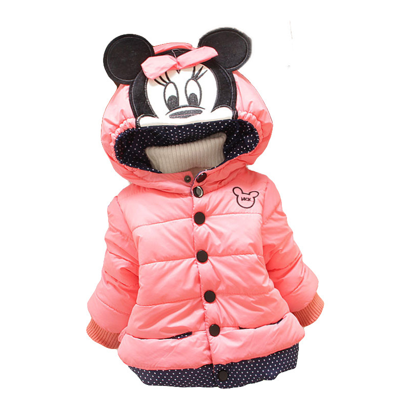 2cddb5587c31 New children outerwear cotton winter Hooded coats Winter Jacket Kids ...