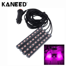 4 in 1 4.5W 36 SMD-5050-LEDs RGB Car Interior Floor Decoration Atmosphere Neon Light Lamp DC 12V Auto Accessories