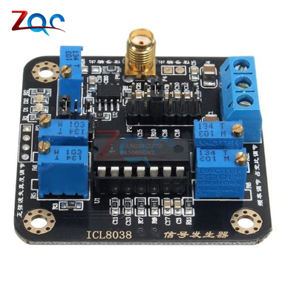 ICL8038 Low-Frequency Signal Generator Module Sine Square Triangle Wave Board 50x50mm Modules