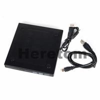Heretom USB2.0 внешний RW корпус CD/DVD дисков случае адаптер ECD012-SU для 12,7 мм для SATA Оптический привод случае