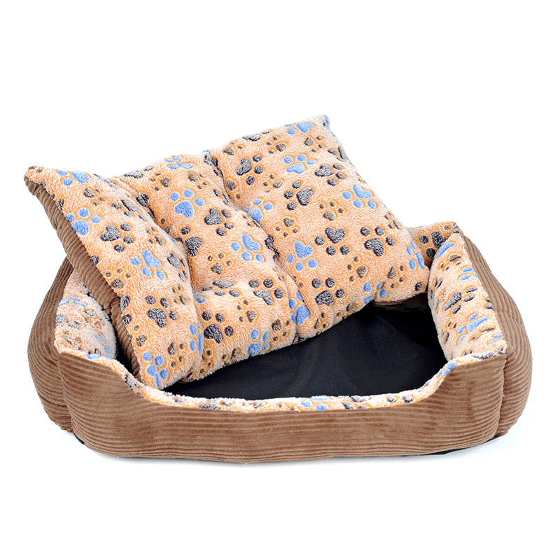YUYU Waterproof Pet Mat Large Dog Bed Sofa Winter Warm Cat House For Small Medium Large Dogs Sleeping Mat Lounger Cushion