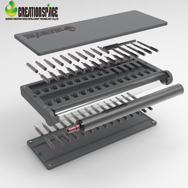 CS03B Mini electric screwdriver Tools for repairing mobile phones glasses screwdriver computers