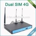 Soporte VPN YF360D Serie 4G dual sim ATM KIOSCO industrial 4G LTE router para Subestación