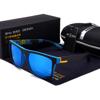 Polarized Men Sunglasses Aluminum Magnesium Sun Glasses Driving Glasses Rectangle Shades For Men Oculos masculino Male