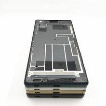 Original For Sony Xperia Z5 LCD Plate Middle Frame Bezel Housing Cover + Plug Cover For Xperia Z5 Dual E6653 E6603 E6633 E6683 стоимость