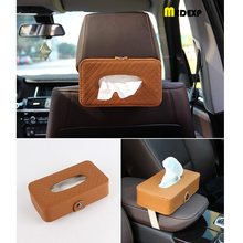 tissue box car home Napkin Paper sunshade storage bag holder accessories hanging