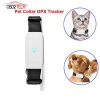 MiNi Waterproof Pets Collar GSM GPS Locator Tracker Rastreador Tracking For Pet Dog Cat Real Time Free APP Track Alarm Device